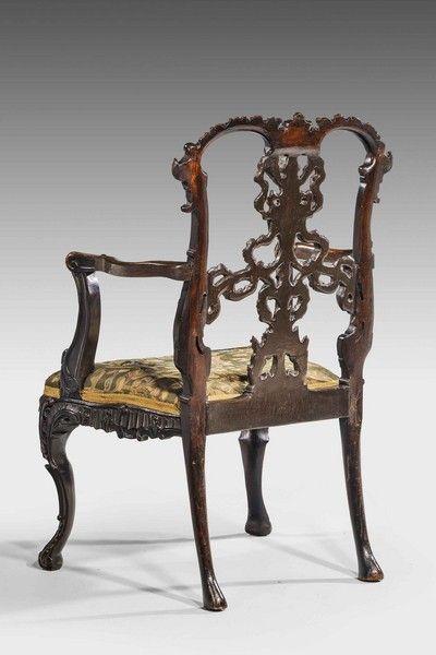 19th Century Mahogany ArmchairA (Ref No. 6738)   Windsor House Antiques