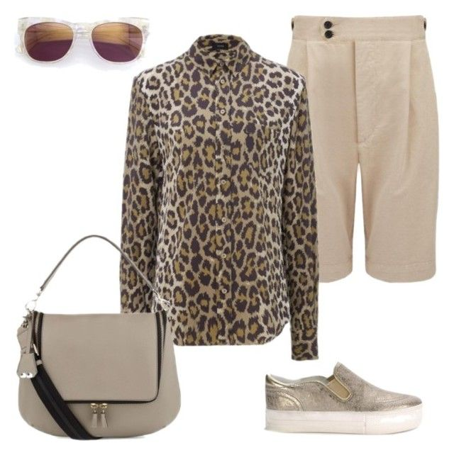 """""""JUNGLE SAFARI"""" by sue-parkinson ❤ liked on Polyvore featuring Wildfox and Anya Hindmarch"""