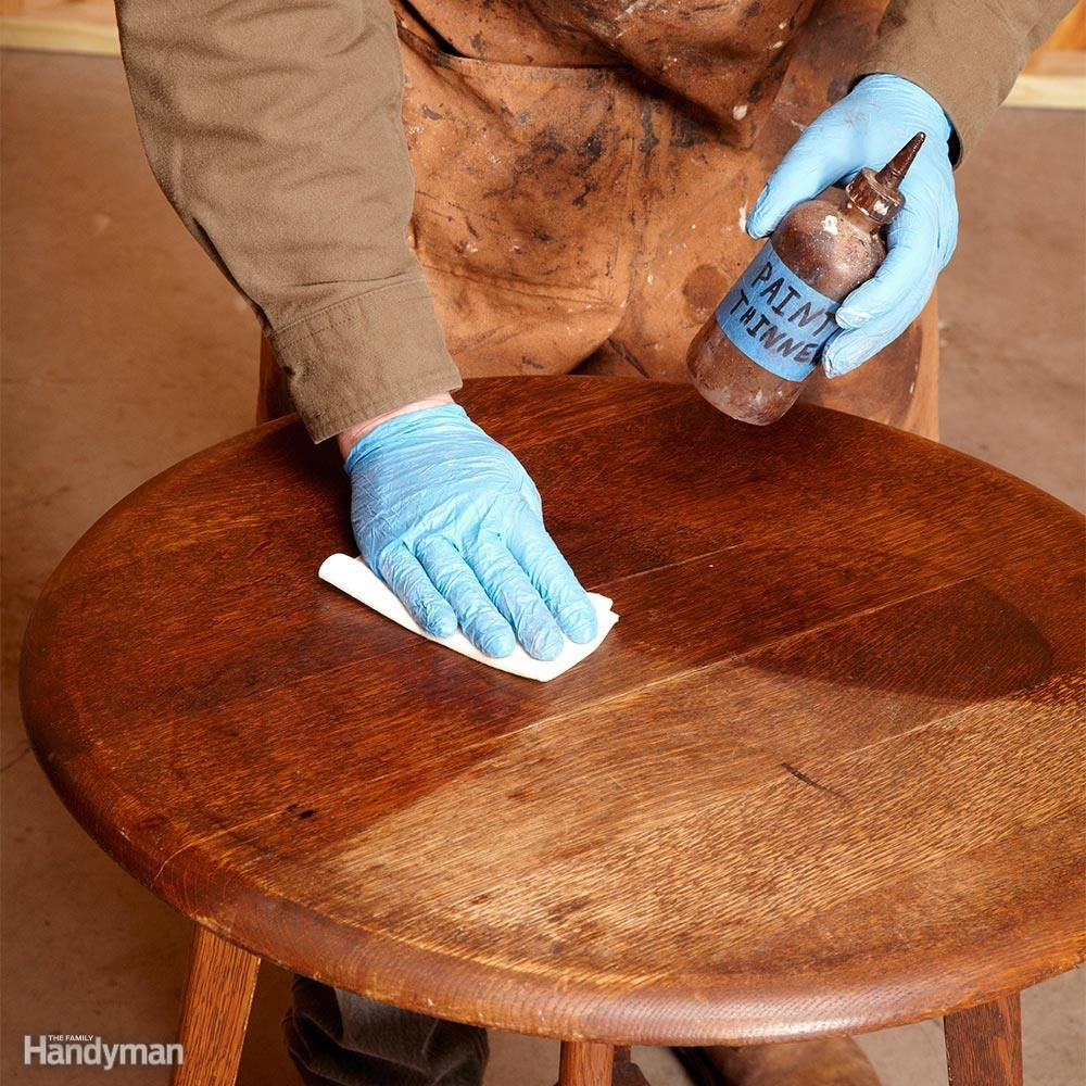 How To Refinish Furniture Minerals
