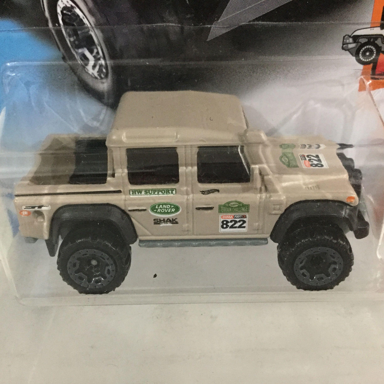 hot wheels - 15 land rover defender double cab (2018) | alex