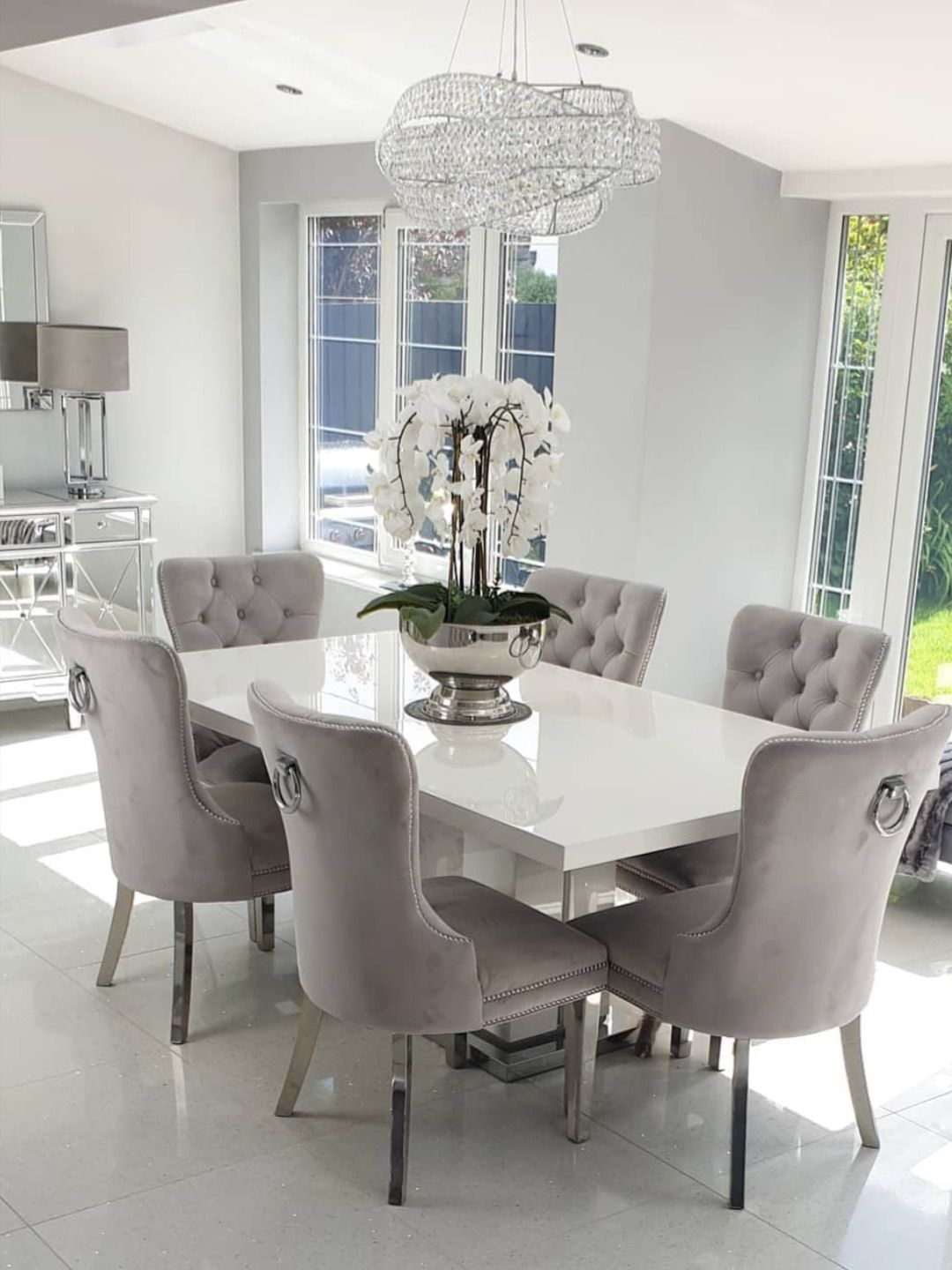 Brielle Tufted Armless Dining Chair Dinning Room Decor Decor Home Living Room Luxury Dining Room