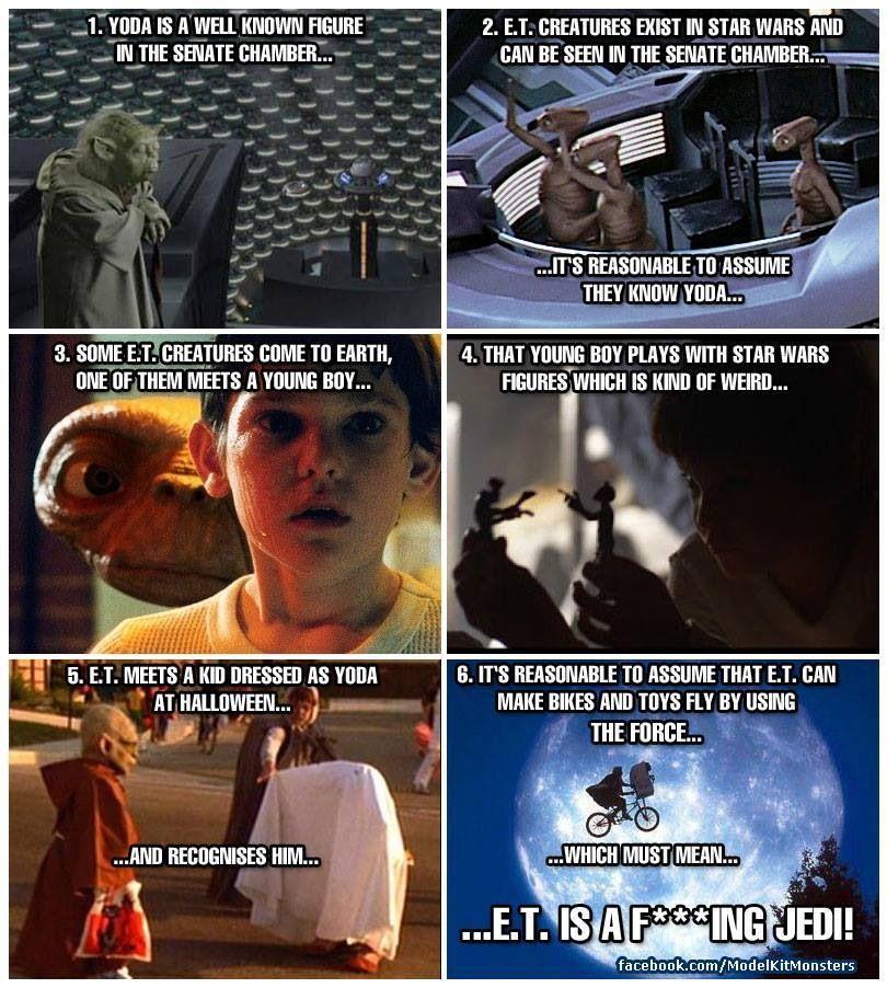 E.T. IS A F***ING JEDI!