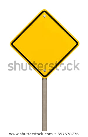 Blank Yellow Road Sign Or Empty Traffic Signs Isolated On White Background Yellow Road Signs Road Signs Church Stage Decor