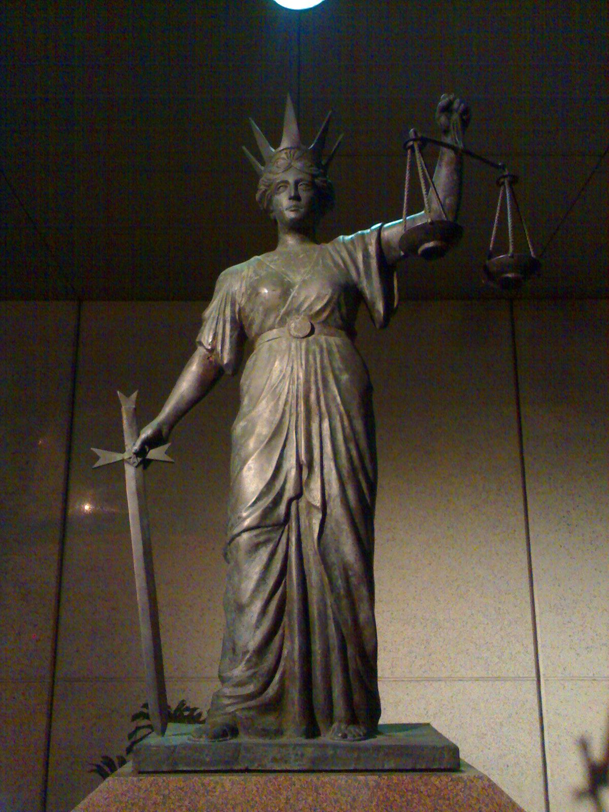Dike Dy Kay Greek Goddess Of Justice She Is Not Blind Though