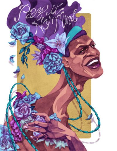 A tribute to Marsha P. Johnson ♥