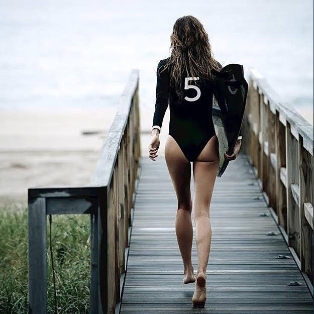 Surf, turf and @gisele.