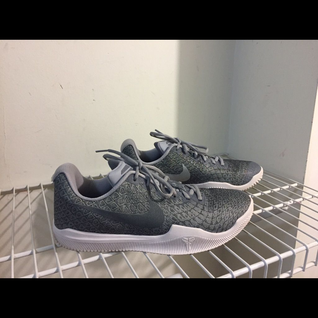 Nike Shoes | Nike Kobe Mamba Instinct Mens | Color: Gray