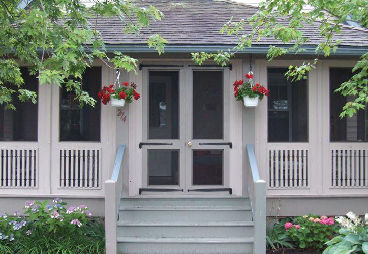 Front porch screened in Porches Pinterest Fachadas y Casas
