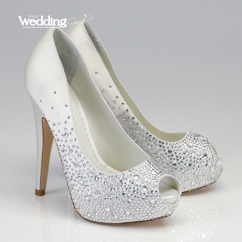 Bling Wedding Shoes   Bridal Shoes   Sparkly wedding shoes