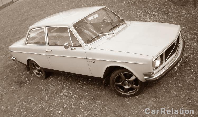 Volvo 142 De Luxe 1970 - color grey - import Sweden (1995) #volvo #classiccar #oldtimer #carrelation