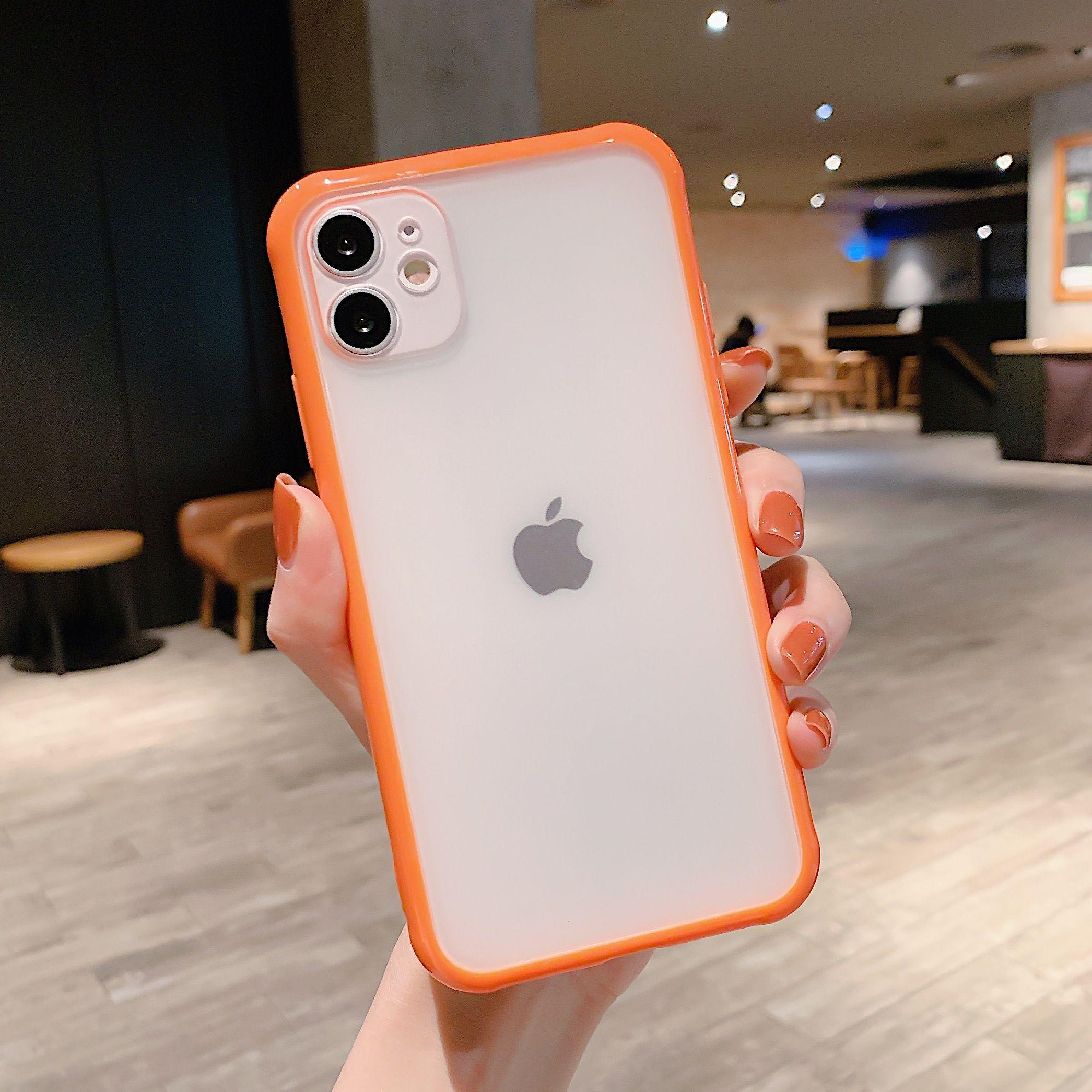حافظة هاتف شفافة مضادة للصدمات لهاتف آيفون Se2 11 Pro X Xs Max Xr 6 6s 7 8 Plus حافظة حماية لو Transparent Phone Case Iphone Transparent Case Clear Iphone Case