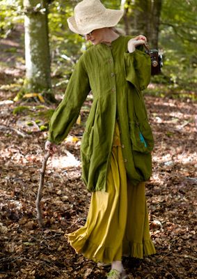 stroll in the woods. Gudrun Sjöden, spring 2012.  I love this outfit.