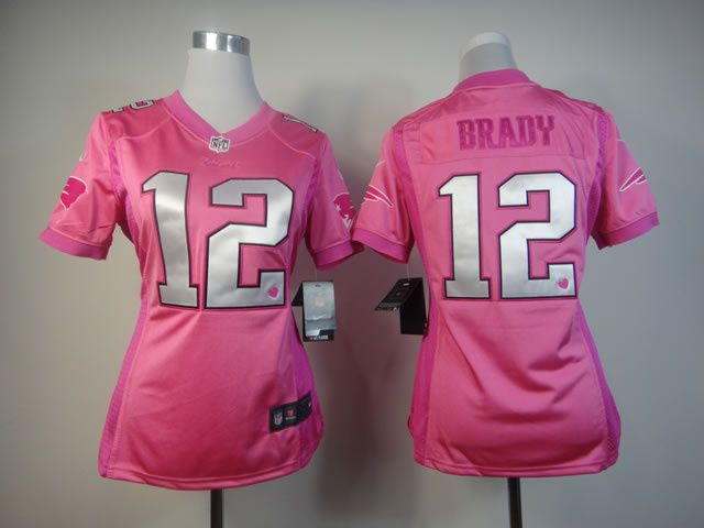 tom brady pink jersey