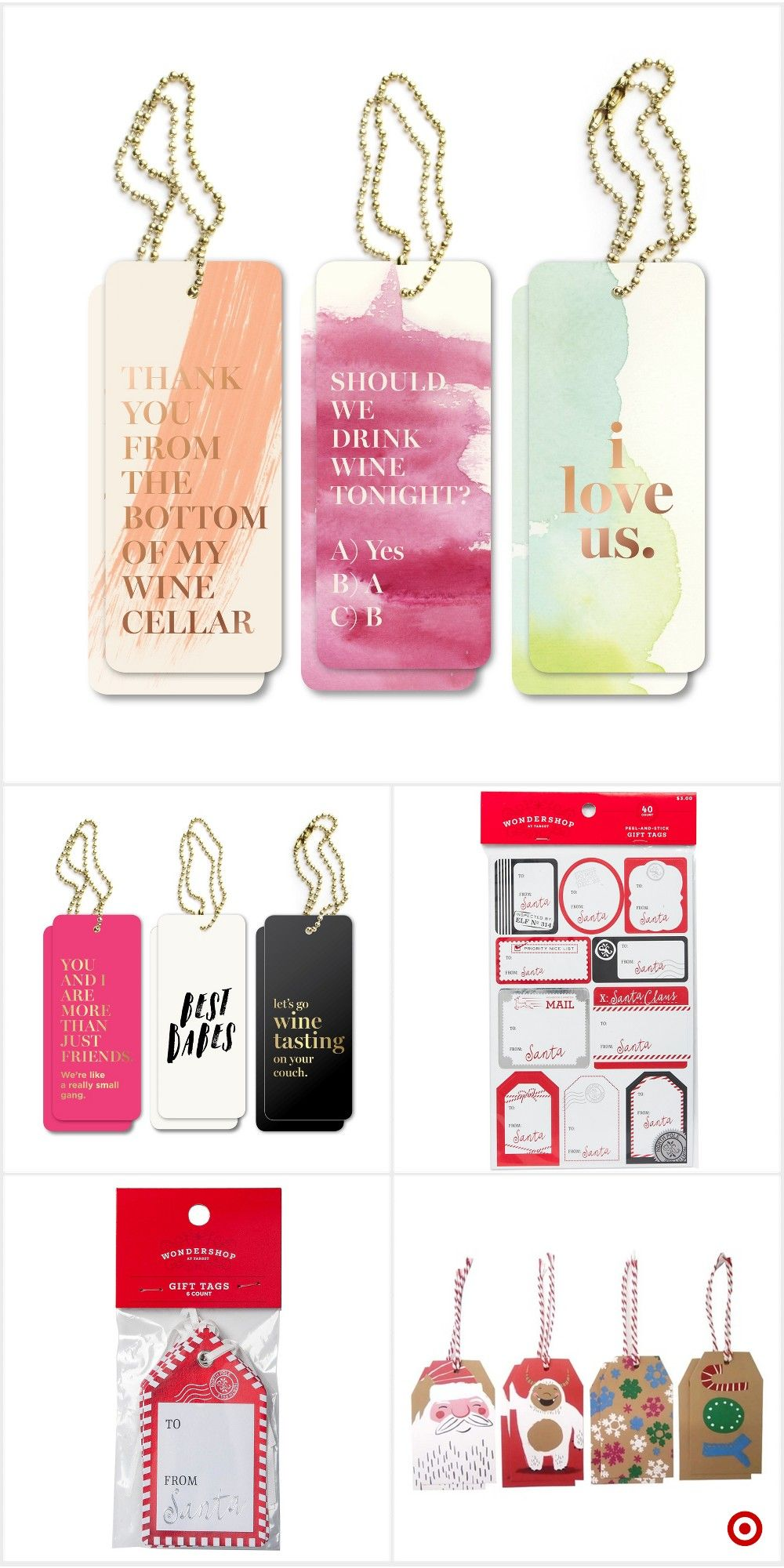 Shop Target For Gift Tag Set You Will Love At Great Low Prices Free