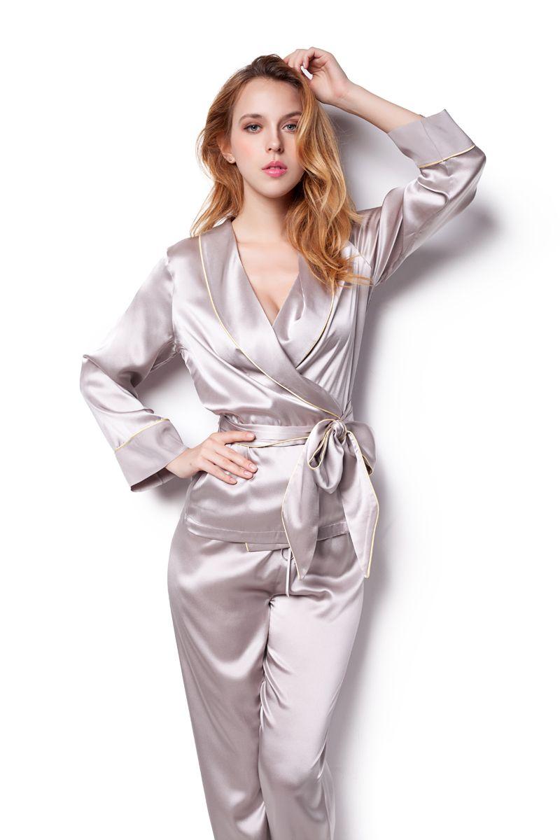 Sang Luo silk pyjamas. Sang Luo silk pyjamas Pyjama Satin 7fbc62b5b