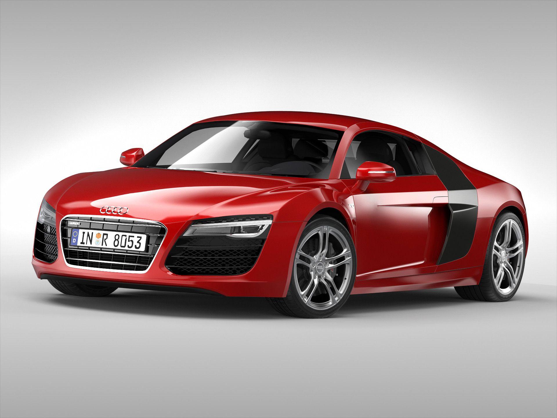 Max Audi Car D Model DModeling Pinterest Audi Cars And D - Audi car 3d games