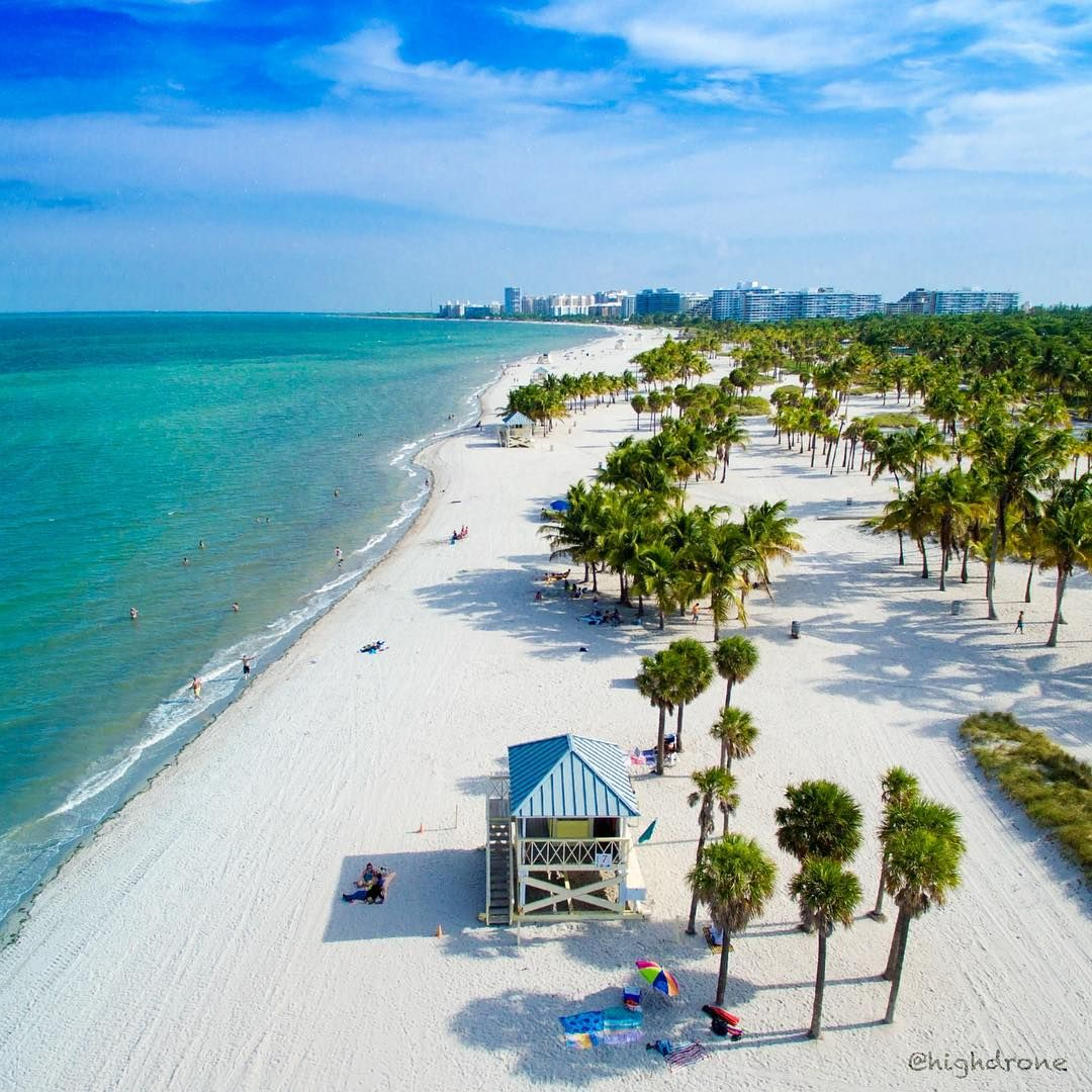 Florida Beach: Crandon Park Beach, KeyBiscayne
