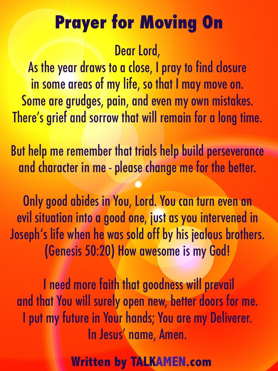 Prayer For Moving On Words Of Wisdom Pinterest Lord And Wisdom