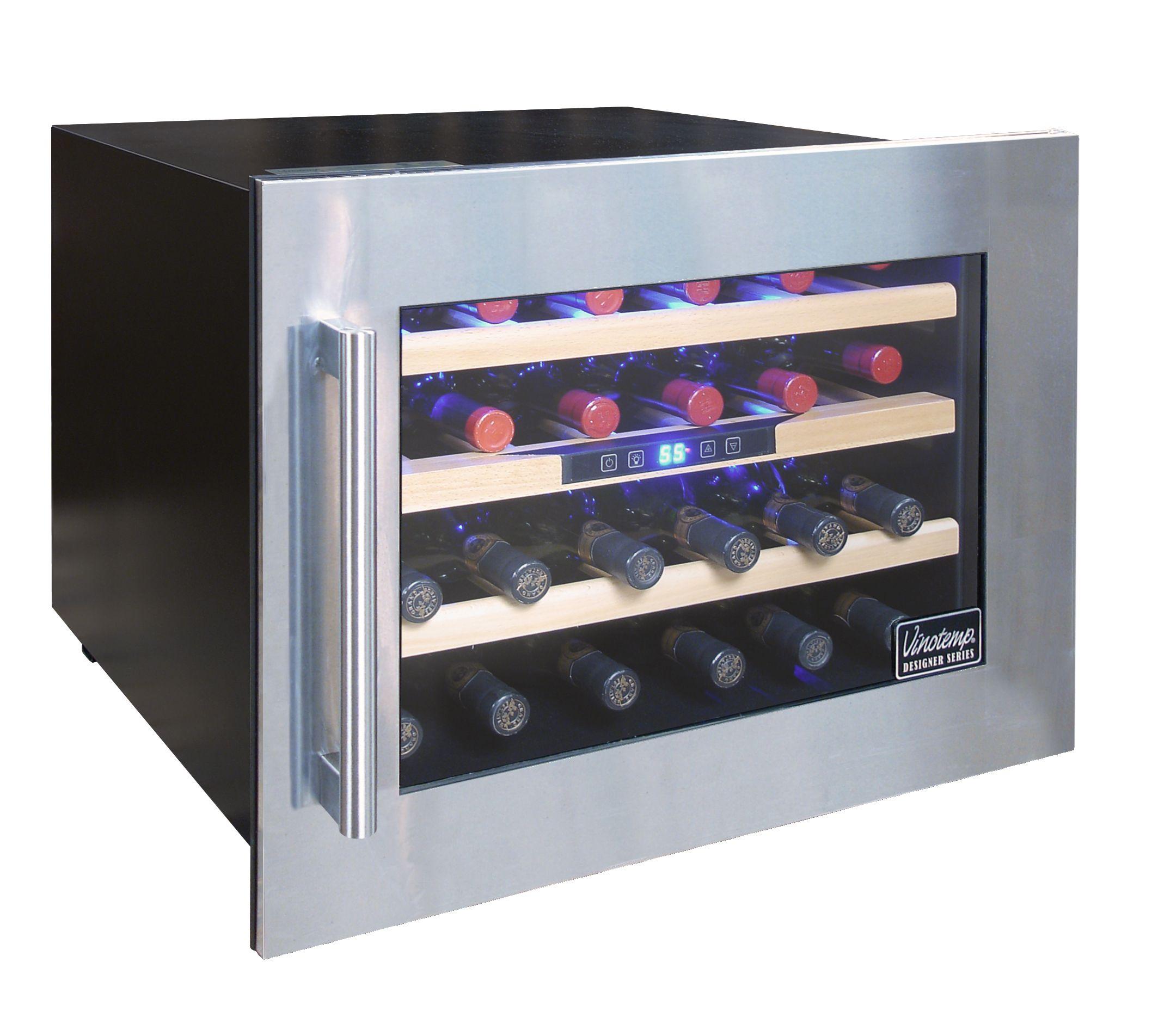 Designer Series 24 Bottle Seamless Wall Mounted Wine Cooler