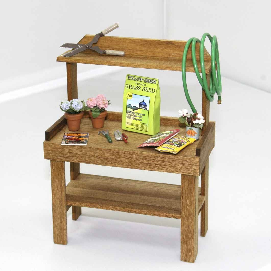 Magnificent Fairy Garden Potting Bench It Looks Just Like The One At Ncnpc Chair Design For Home Ncnpcorg