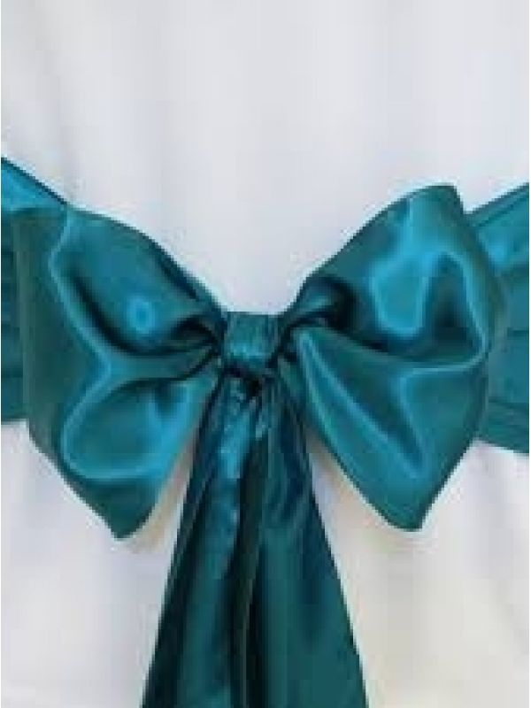 WANTED   Dark Teal Chair Sashes