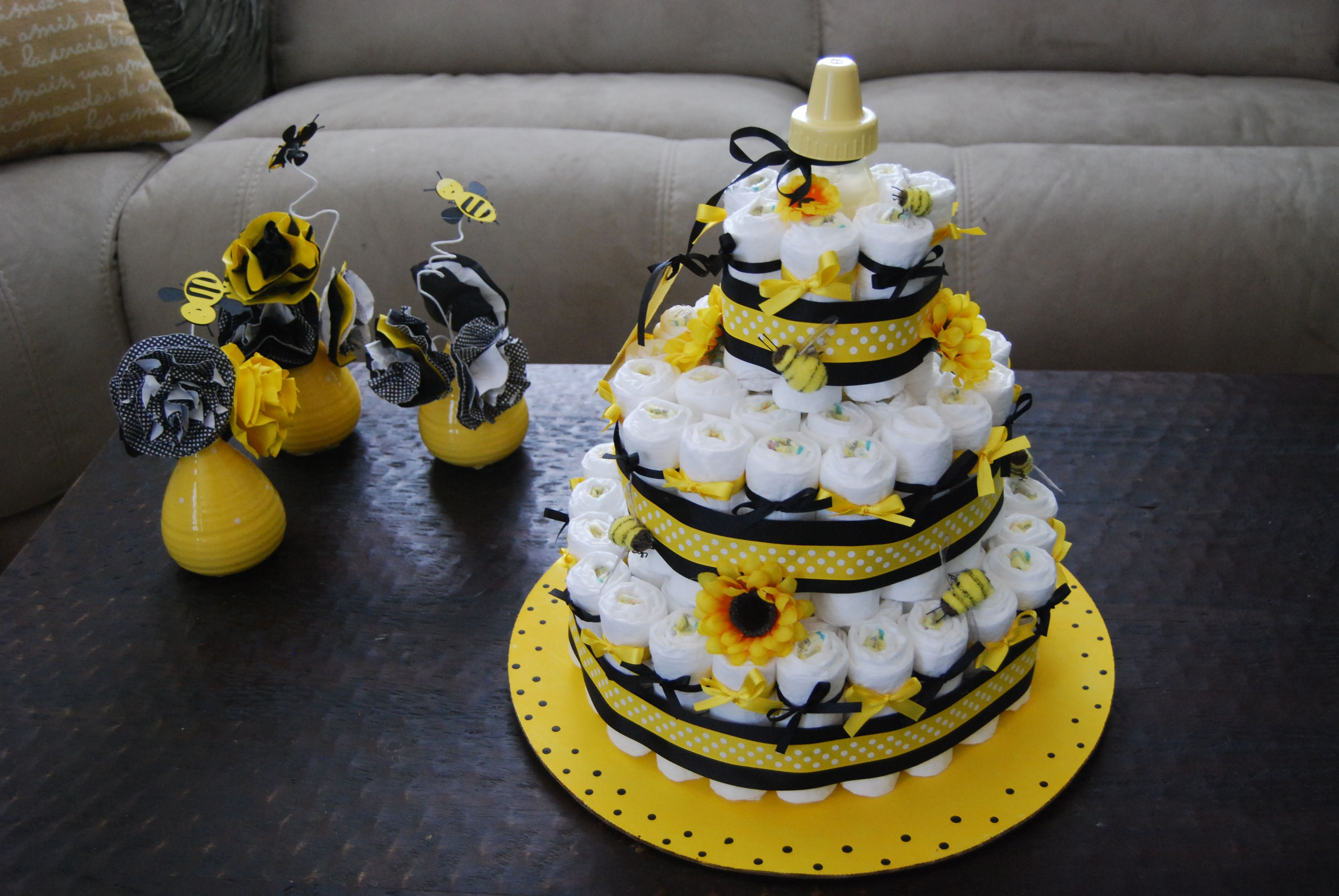 Bumble Bee Baby Shower The End Cant Wait To Learn Gender Engaging Themed