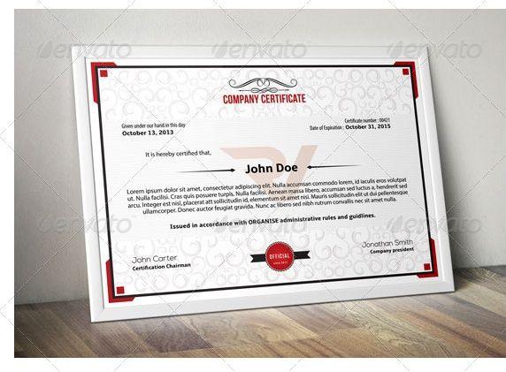 Certificate of Attendance Template | Certificate of Attendance ...