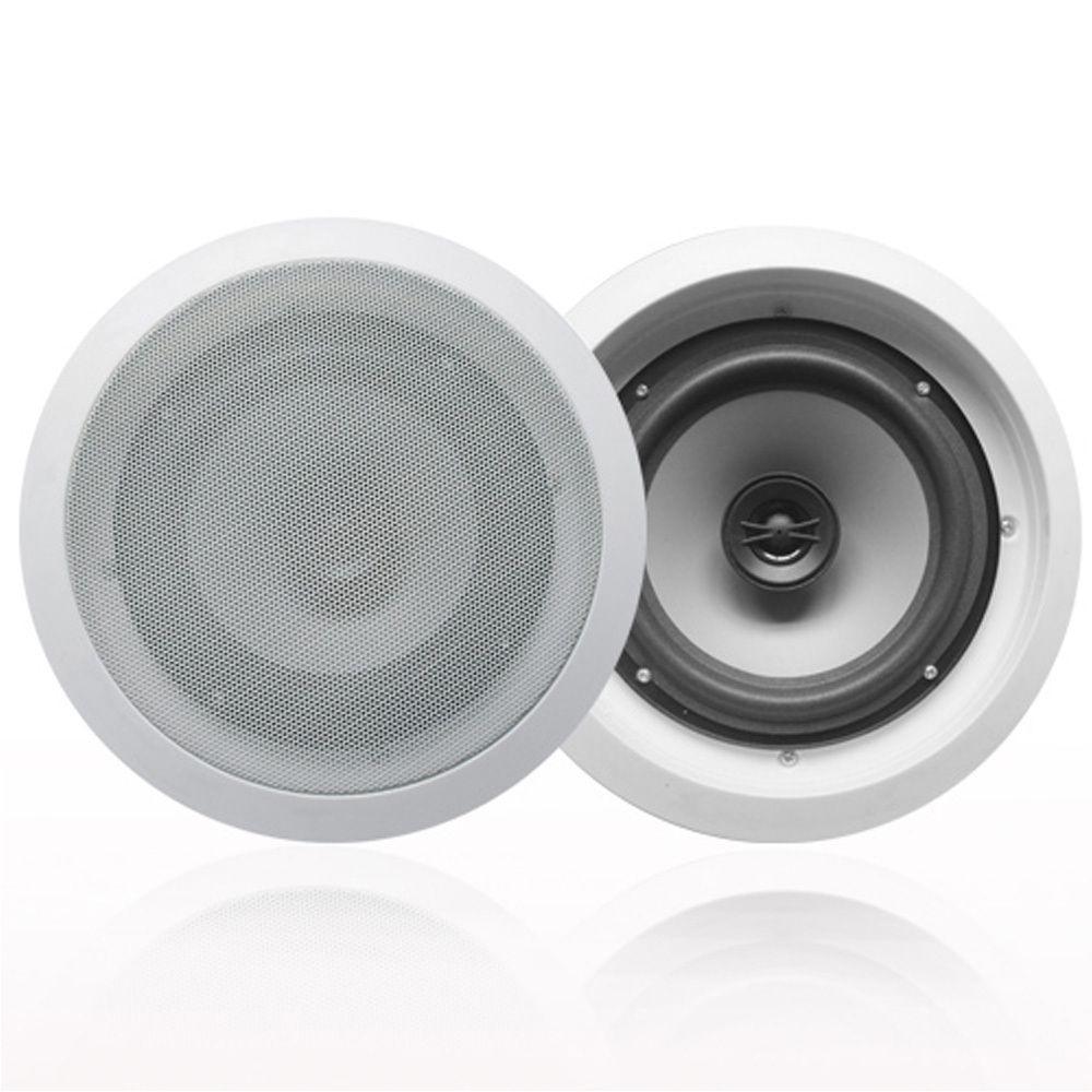 Acoustic Audio Cs Ic82 In Ceiling 8 Inch Speaker Pair 2 Way