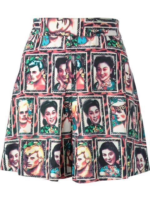 Shop Jean Paul Gaultier Vintage 'JPG' portrait print skirt in House of Liza from the world's best independent boutiques at farfetch.com. Over 1500 brands from 300 boutiques in one website.
