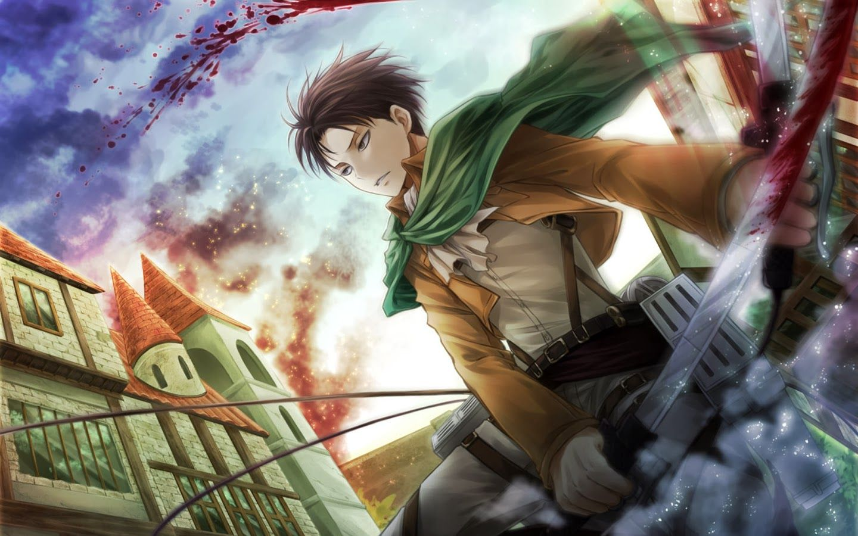 Levi Anime Attack On Titan Shingeki No Kyojin Hd Wallpaper 1440x900
