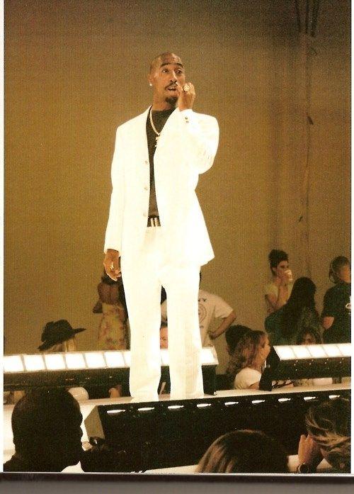 Tupac shooting a music video | My man's style ideas | Amaru