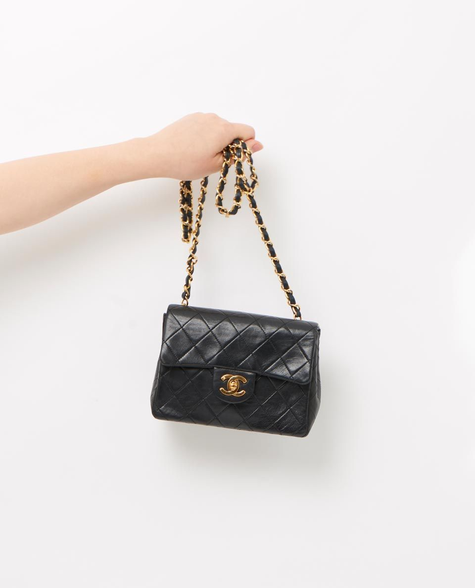 467b4075 vintage chanel 7 mini classic flap bag gallery | C H A N E L ...
