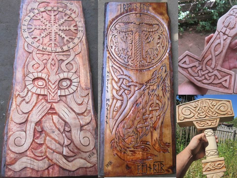 Tallados irminsul relief pinterest vikings asatru