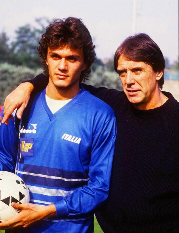 Kết quả hình ảnh cho Paolo Maldini dad
