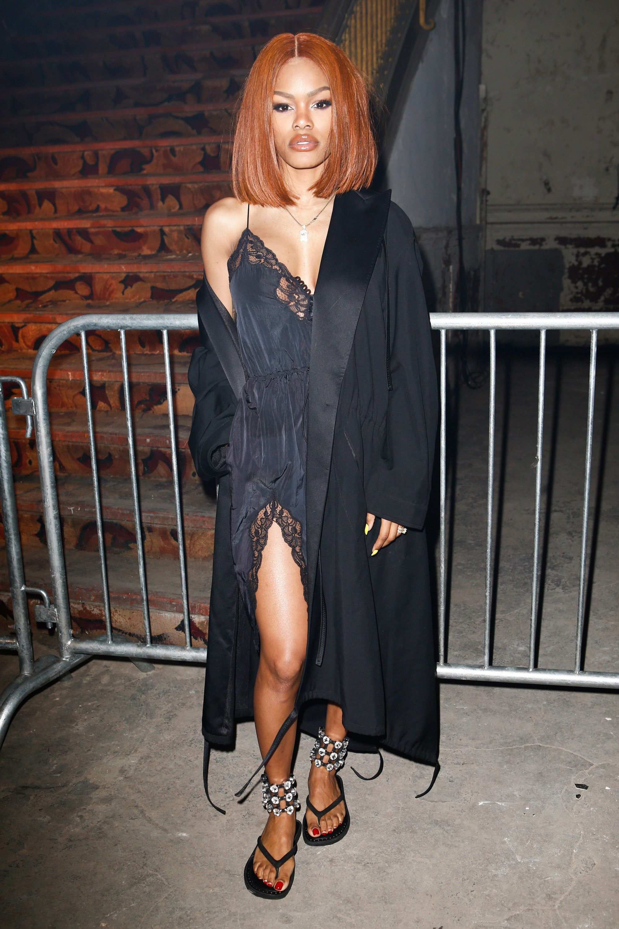 Nyfw Alexander Wang Teyana Taylor Is The Harlem Muse