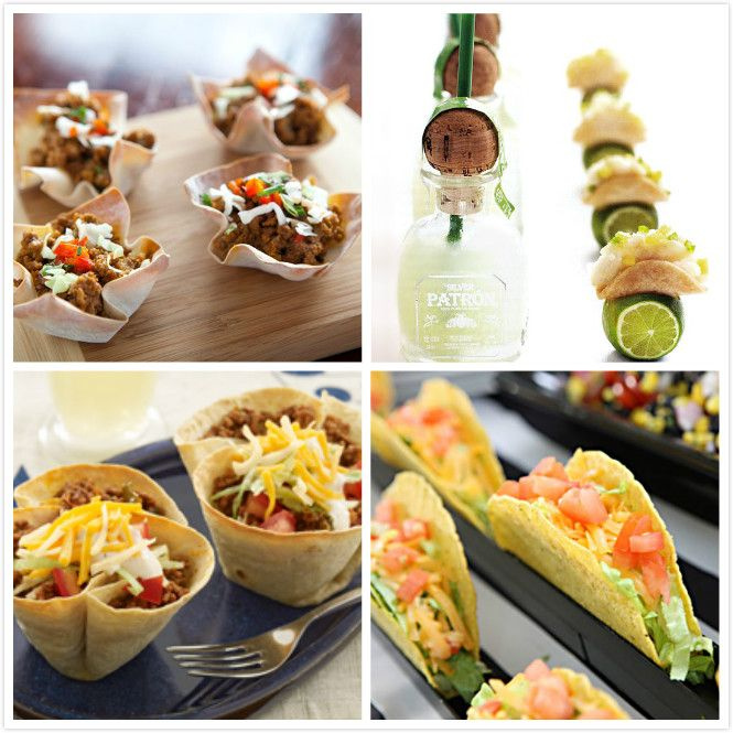 Wedding Reception Food Station Ideas: Mini Food Ideas For A Wedding