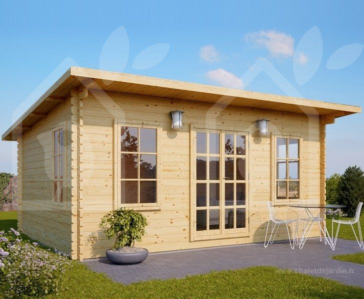Abri de jardin ESSEX 20m²(5x4) 44mm abri en bois abri de jardin