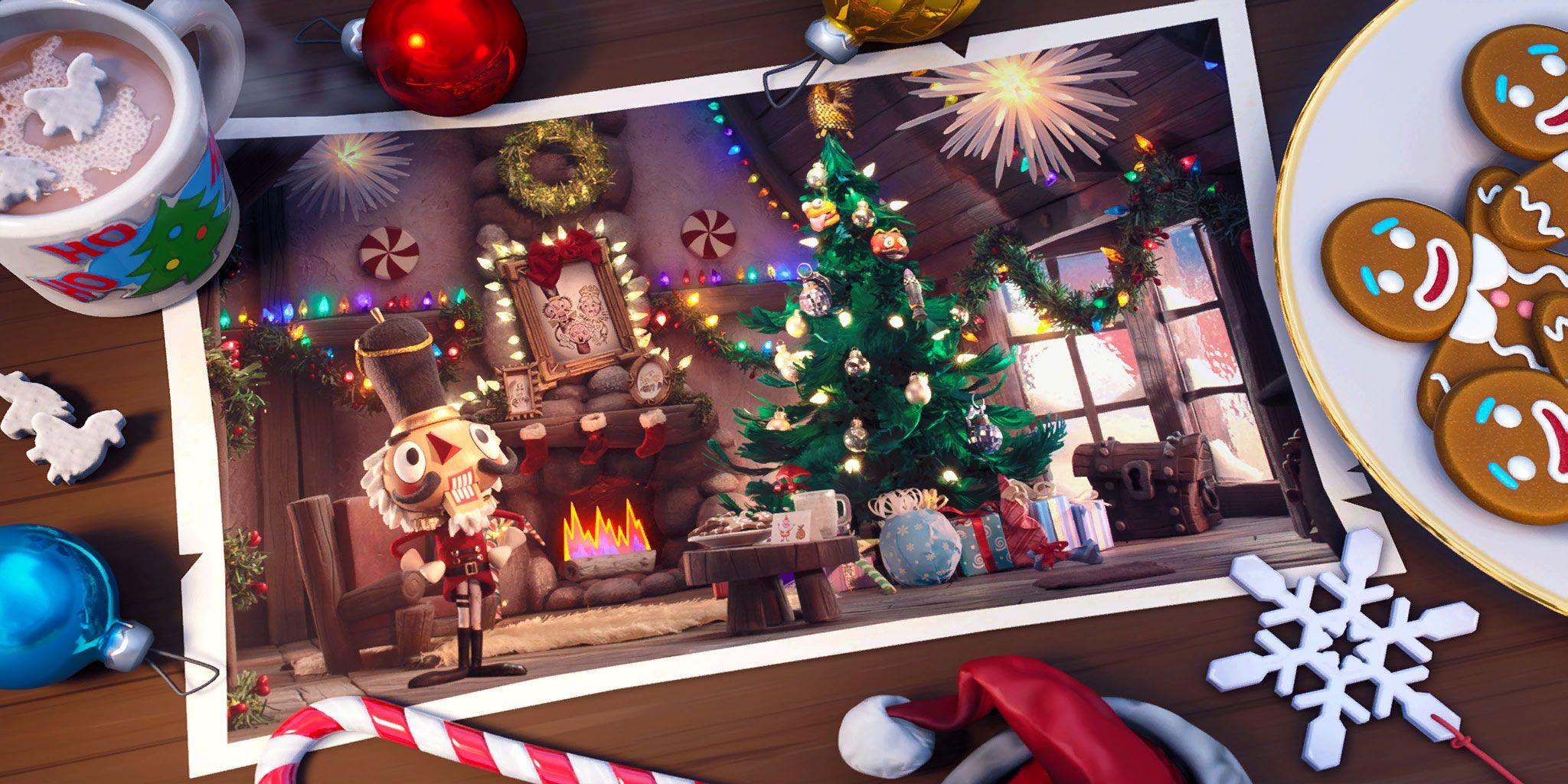 Fortnite Loading Screen Wallpaper In 2020 Christmas Wallpaper Gaming Wallpapers Wallpaper