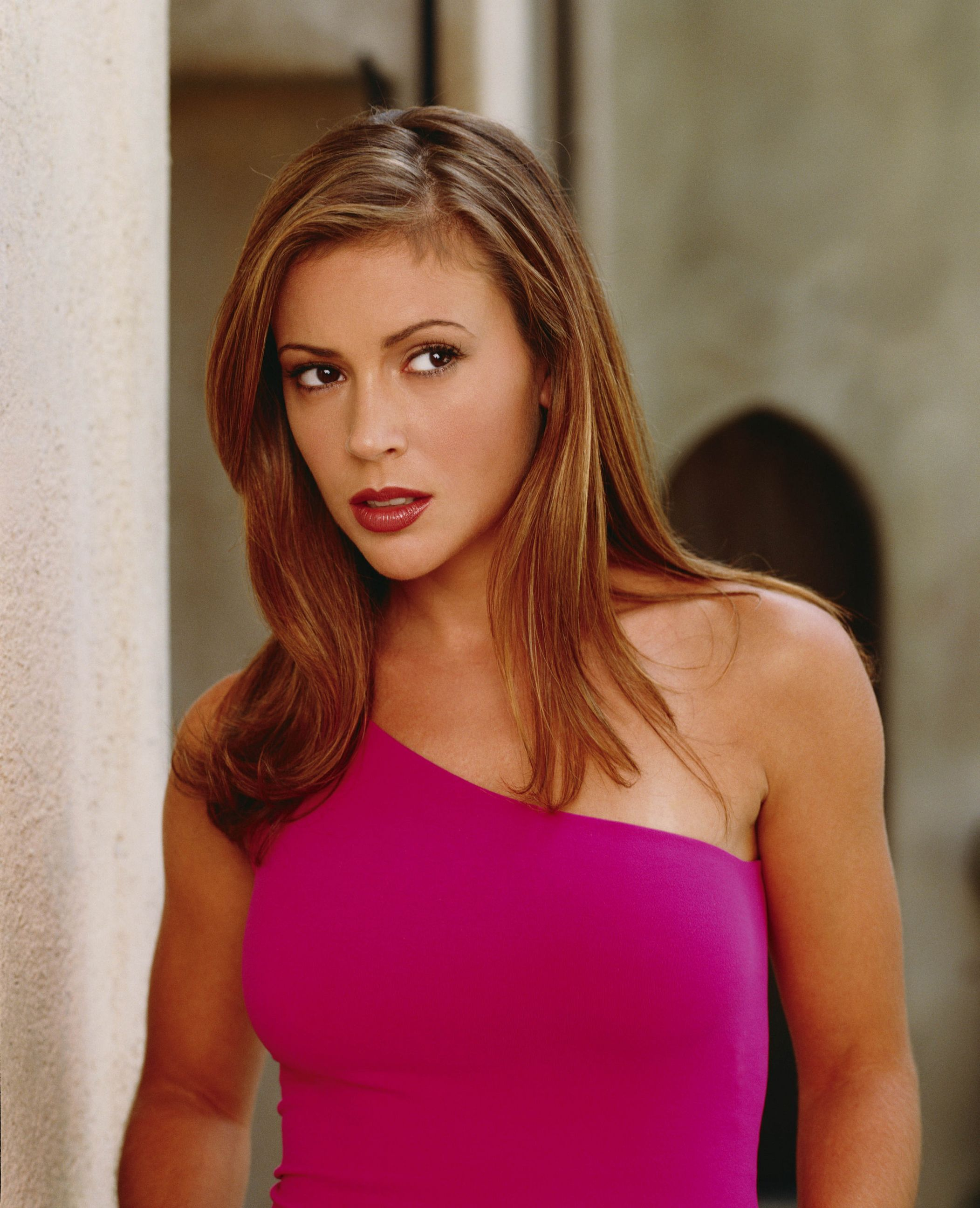 Charmed Alyssa Milano Was Another Of My 90s Style Inspirations