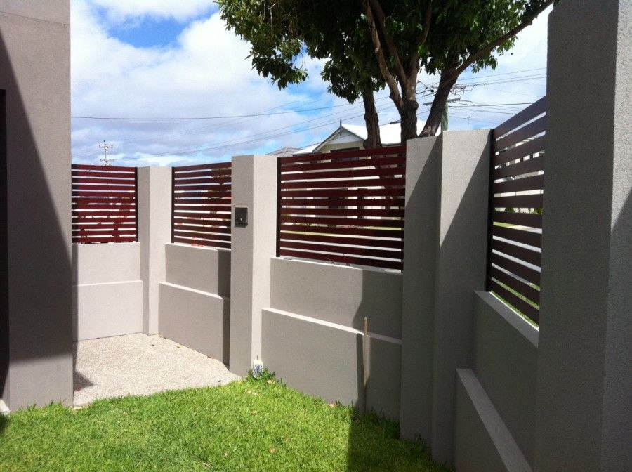 Modern Brick Fence Design Idea In 2019 Modern Fence