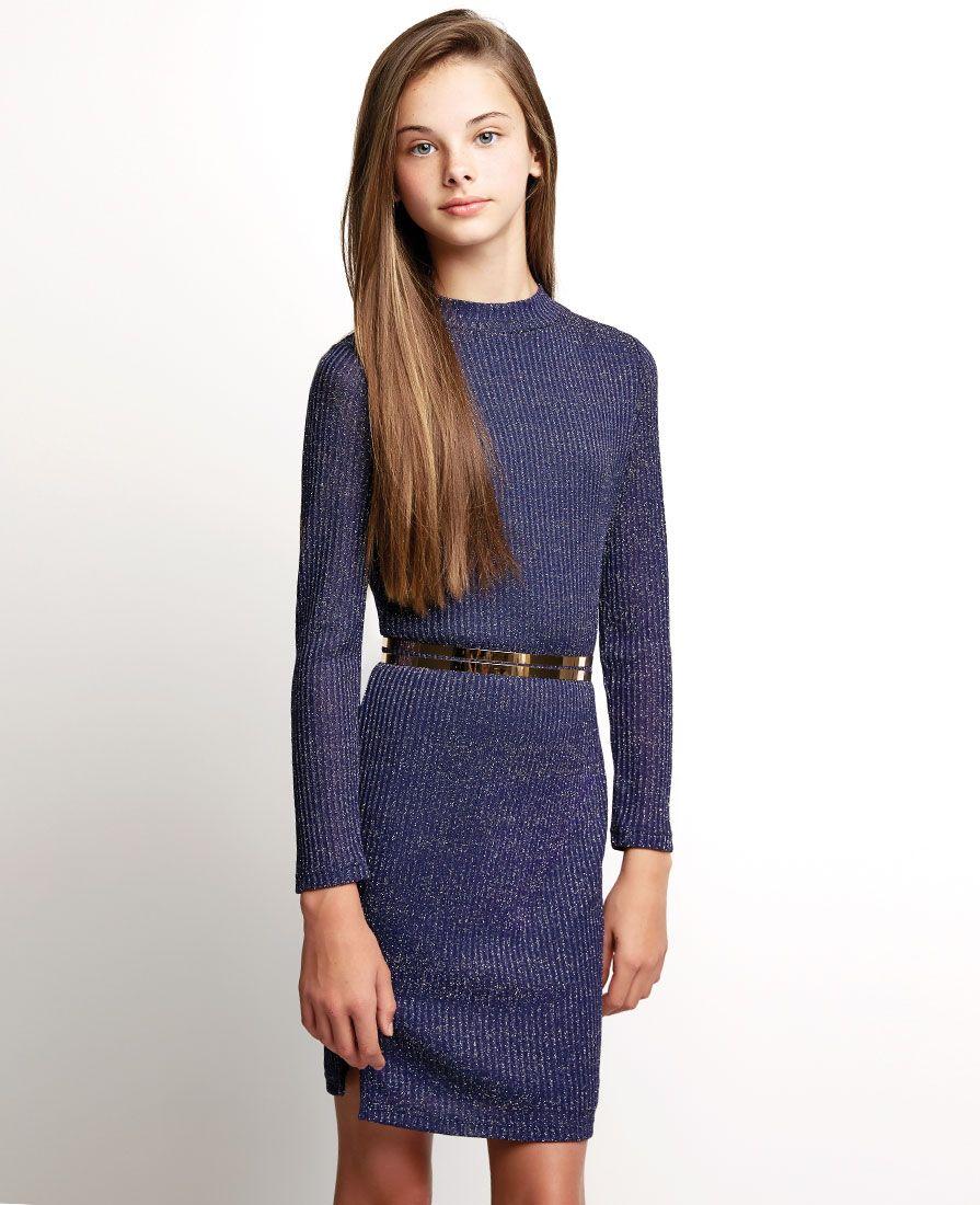 Girl\'s Inez Lurex Dress - Bardot Junior | Tween | Pinterest ...