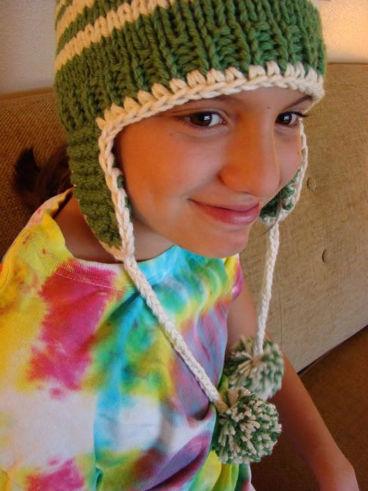 FREE TODDLER CHILD ADULT EARFLAP HAT | Crochet Knit - ACCESSORIES ...