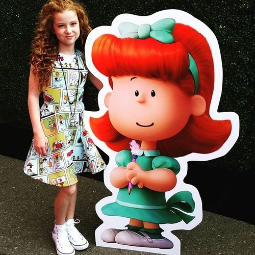 AWW: Francesca Capaldi Finally Reveals Her 'Peanuts Movie' Character The Little Red Haired Girl