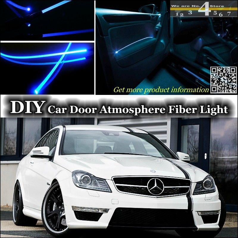Mercedes Benz W202 W203 W205 Canbus Number Plate Light Bulbs 12 SMD Blanc
