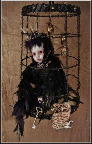 Stefanie Vega, doll, cage