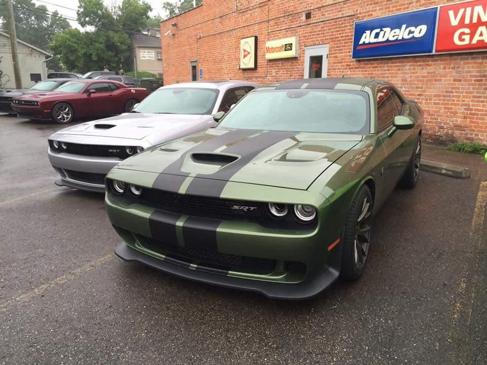 2016 Dodge Srt Hellcat Mule To Test New Green Color Is This What