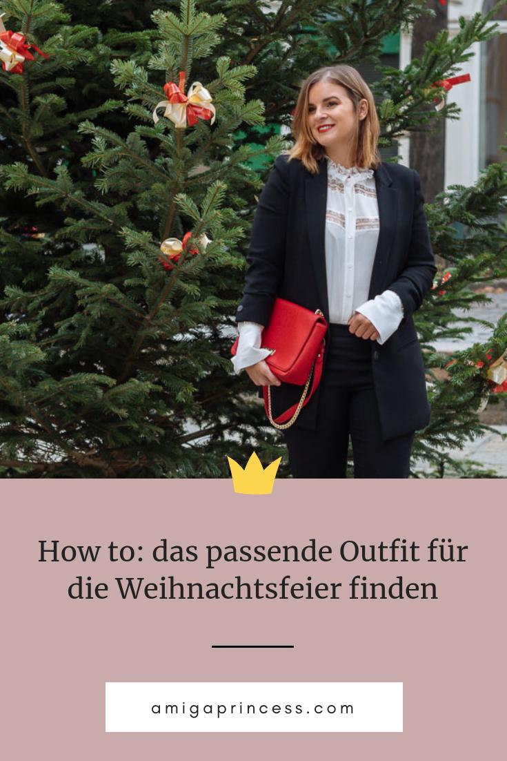 How to: das passende Outfit für die Weihnachtsfeier finden ...
