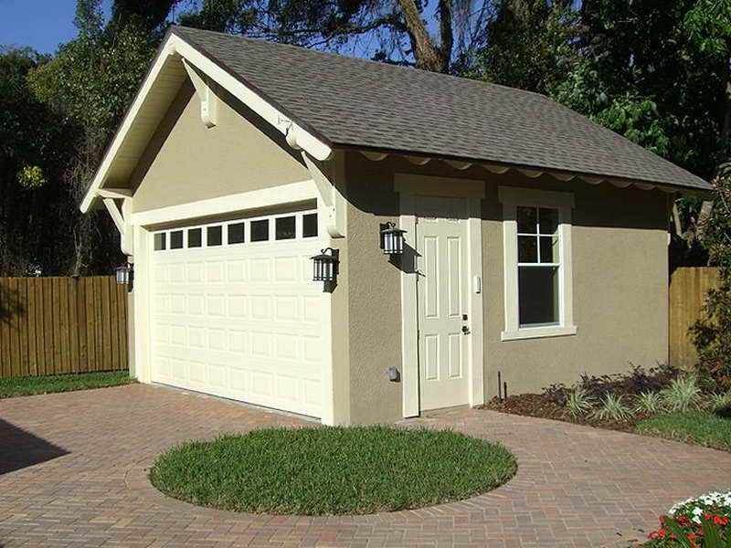Exceptional Small Garage Plans 4 2 Car