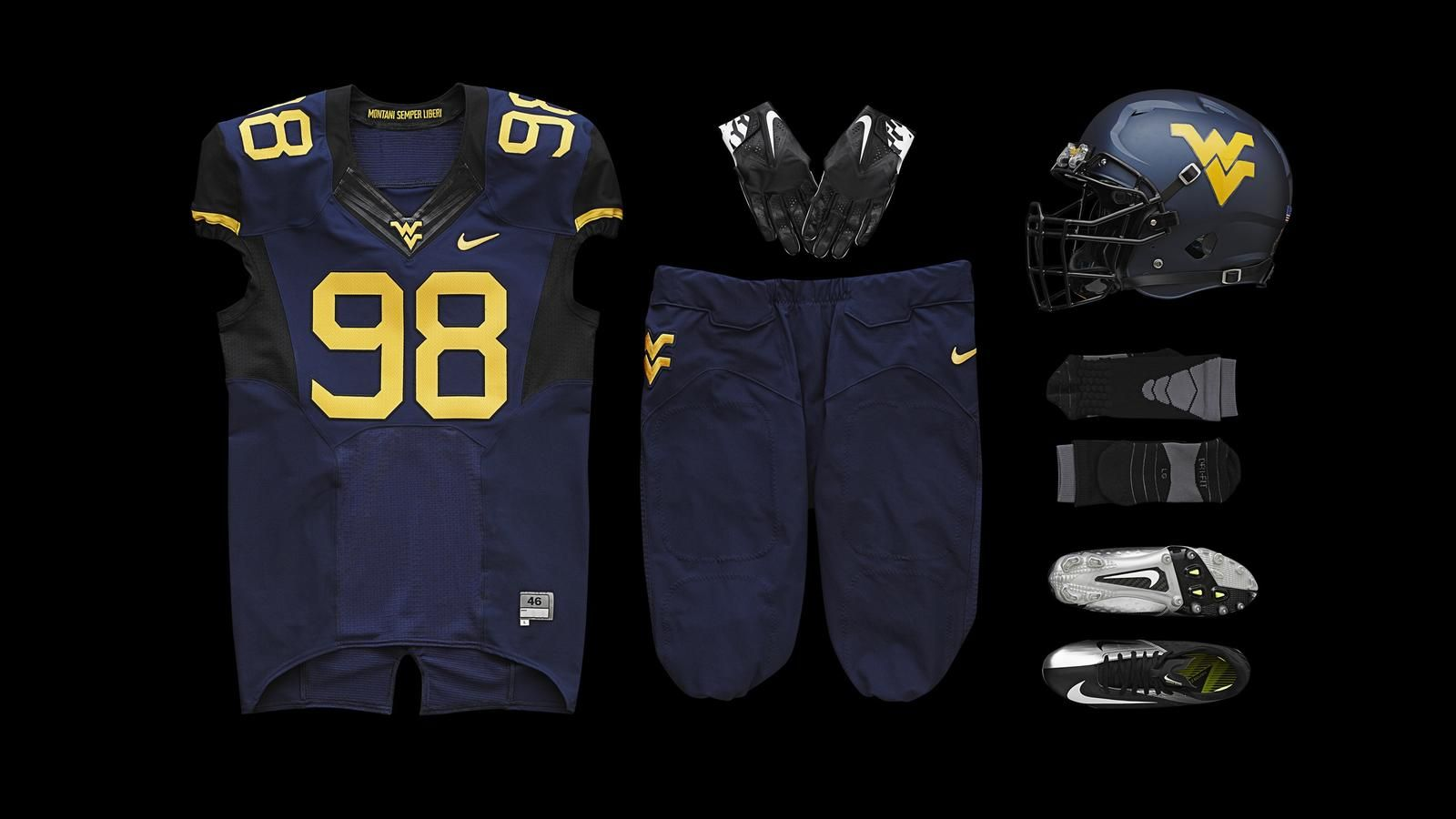West Virginia Unveils New Football Uniforms For