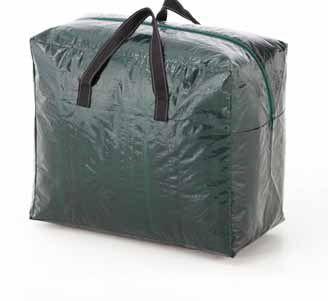 Bolsa para adornos navideños. Bolsa para conservación y almacenamiento de adornos y complementos navideños. Protege de la suciedad y la humedad.